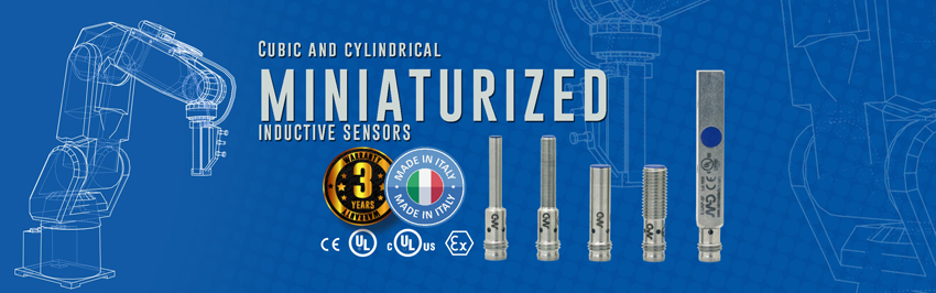 Cubic And Cylindrical Miniaturized Inductive Sensors