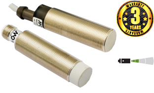 Cylindrical M12 in AC Inductive Sensors