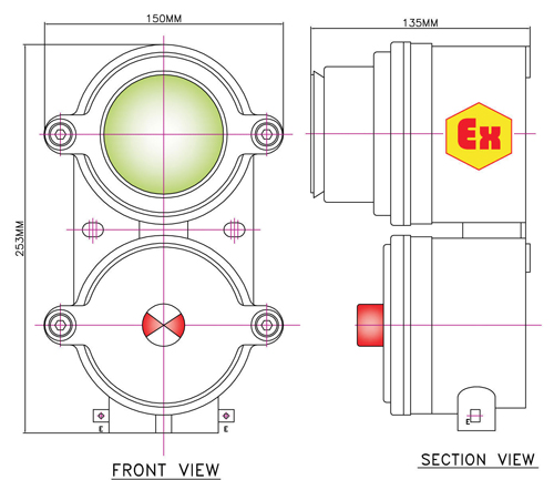 EMW Flame Proof Equipments, Halogen Lamps, Manufacturer, Pune, India