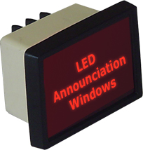 LED Announciation Windows