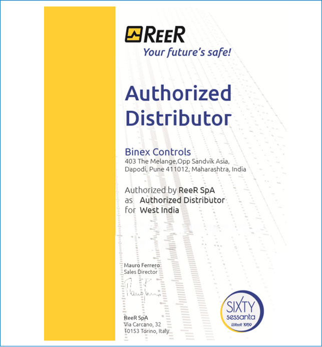 reer certificates of dealership